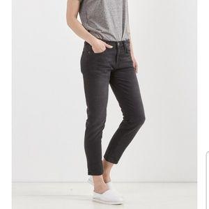Current/Elliott The Fling Black Boyfriend Jeans